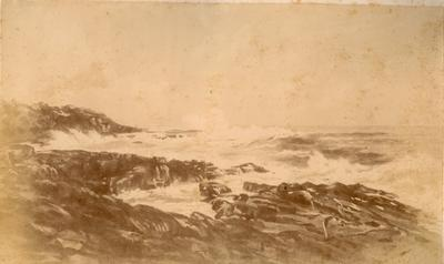 On the Coast, Near the Pilot Station (No. 11 from the series 'Scenery of Shoalhaven: facsimiles in photography of eighteen original drawings', 1892)