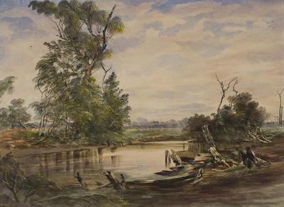 Yalwell Hut / Creek near Berellen