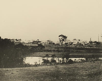View of Early Nowra (taken from East Street)