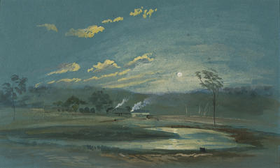 Nowra Mill by Moonlight